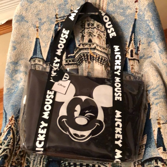 0c24c6f5e Disney Bags   By Primark Mickey Mouse Clear Tote Bag   Poshmark